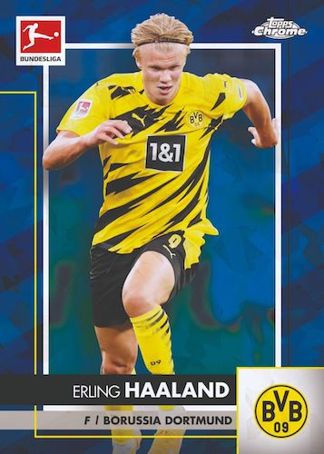 2020-21 Topps Chrome Sapphire Edition Bundesliga Soccer Cards 3