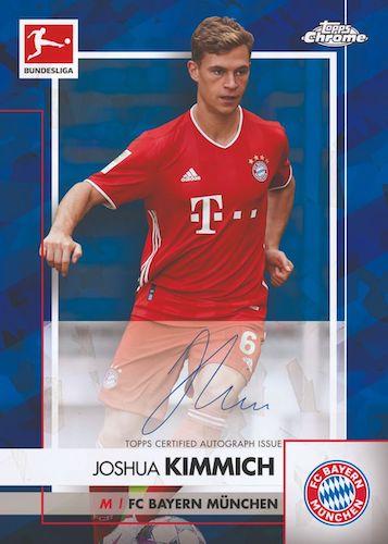 2020-21 Topps Chrome Sapphire Edition Bundesliga Soccer Cards 5