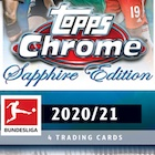 2020-21 Topps Chrome Sapphire Edition Bundesliga Soccer Cards