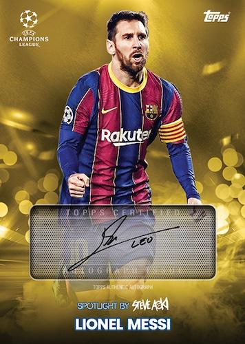 2020-21 Topps Football Festival by Steve Aoki UEFA Champions League Soccer Cards 2