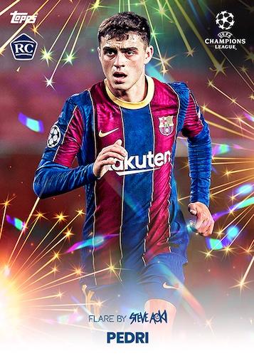 2020-21 Topps Football Festival by Steve Aoki UEFA Champions League Soccer Cards 1
