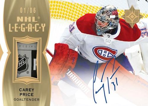 2020-21 Ultimate Collection Hockey Cards 4
