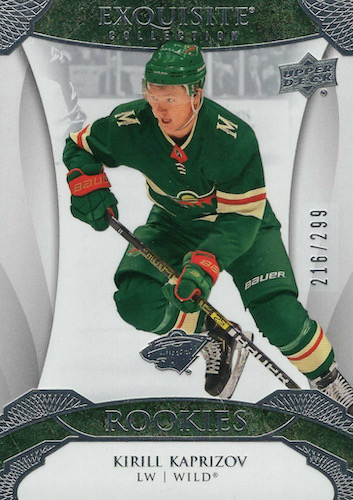 Top Kirill Kaprizov Rookie Cards to Collect 6