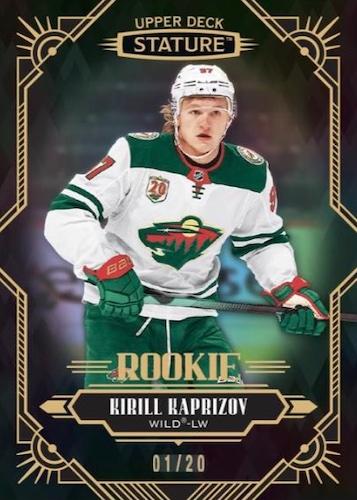 2020-21 Upper Deck Stature Hockey Cards 2