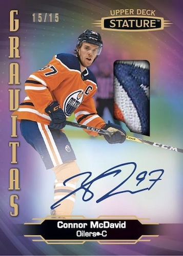 2020-21 Upper Deck Stature Hockey Cards 6