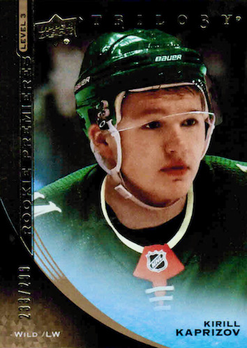 Top Kirill Kaprizov Rookie Cards to Collect 11