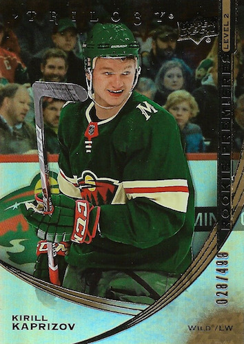 Top Kirill Kaprizov Rookie Cards to Collect 10