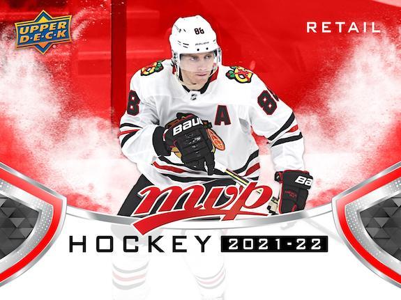 2021-22 Upper Deck MVP Hockey Complete Factory Box Set Cards 1