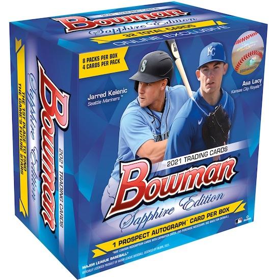 2021 Bowman Sapphire Edition Baseball Cards 4