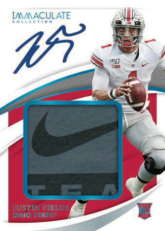 2021 Immaculate Collection Collegiate Football Cards 5