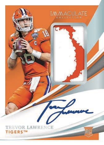 2021 Immaculate Collection Collegiate Football Cards 3