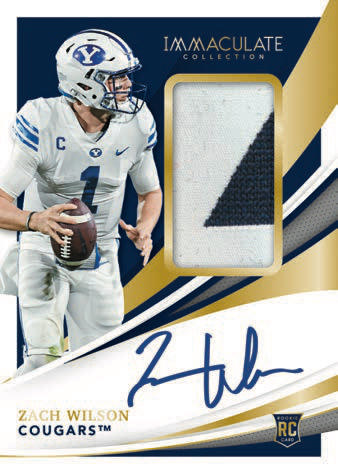 2021 Immaculate Collection Collegiate Football Cards 4