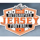 2021 Leaf Autographed Football Jersey Edition