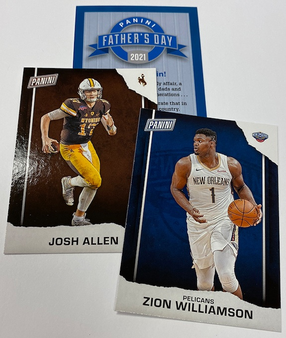 2021 Panini Father's Day Multi-Sport Trading Cards 1