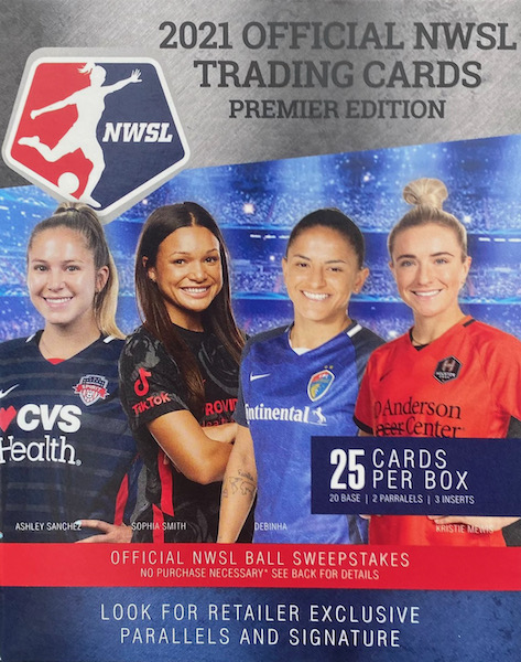 2021 Parkside NWSL Premier Edition Soccer Cards - Checklist Added 5