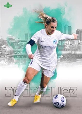 2021 Parkside NWSL Premier Edition Soccer Cards - Checklist Added 4