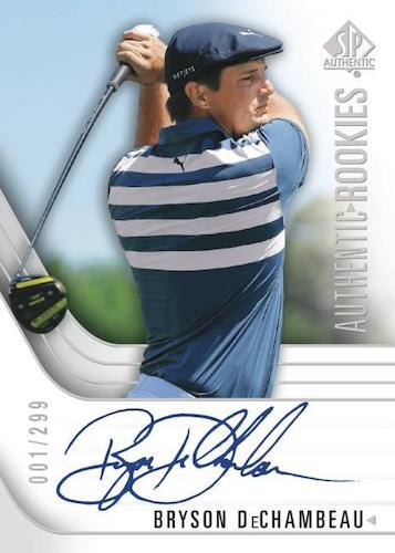 2021 SP Authentic Golf Cards - Updated Details 4