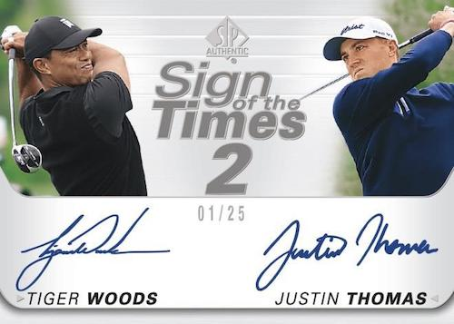 2021 SP Authentic Golf Cards - Updated Details 8