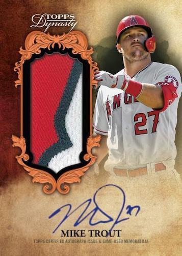 2021 Topps Dynasty Baseball Cards 2