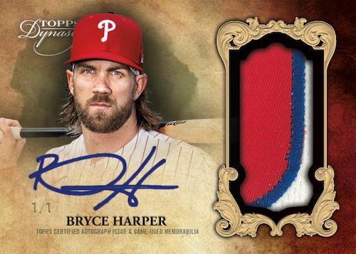 2021 Topps Dynasty Baseball Cards 1