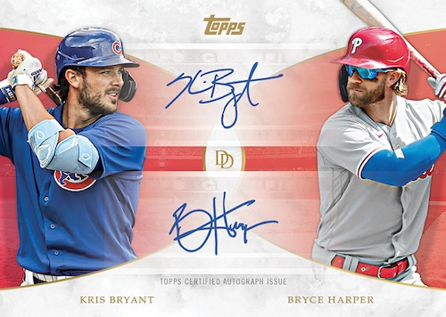 2021 Topps On Demand Set Trading Cards - Set 3 Dynamic Duals MLB 2