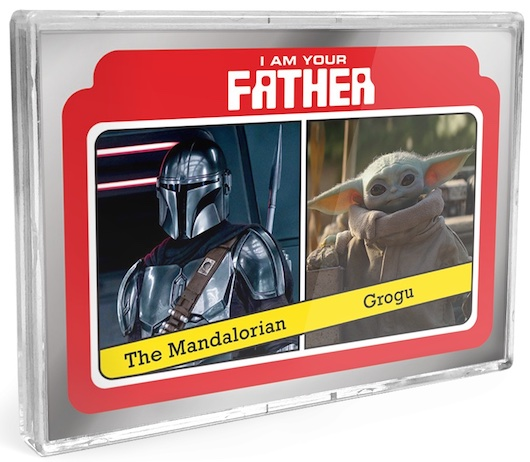 2021 Topps Star Wars I Am Your Father's Day Cards 1