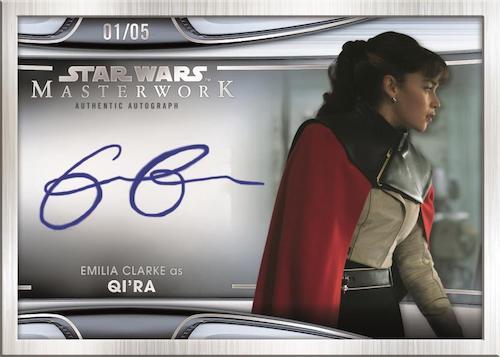 2021 Topps Star Wars Masterwork Trading Cards 4