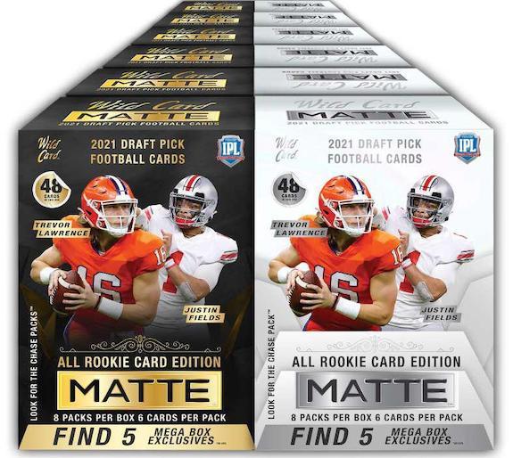 2021 Wild Card Matte Football Cards 8