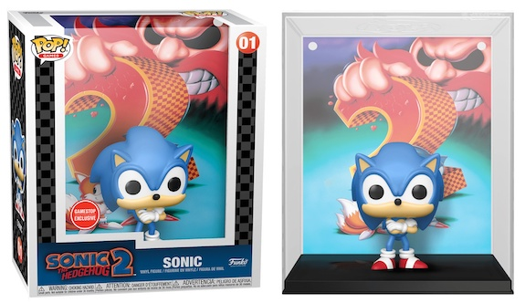 Funko Pop Game Covers Figures 1