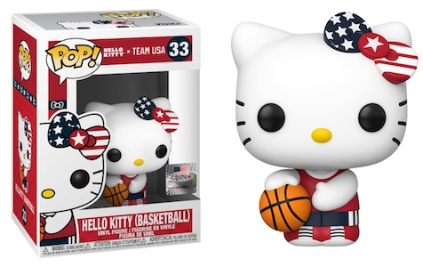 Ultimate Funko Pop Hello Kitty Figures Gallery and Checklist - Team USA 13