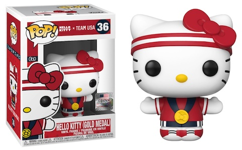 Ultimate Funko Pop Hello Kitty Figures Gallery and Checklist - Team USA 16