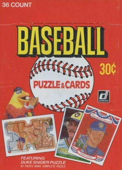 1984 Donruss Baseball Cards 5