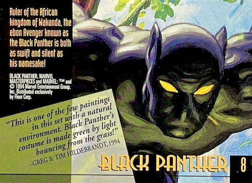 1994 Fleer Marvel Masterpieces Trading Cards 4