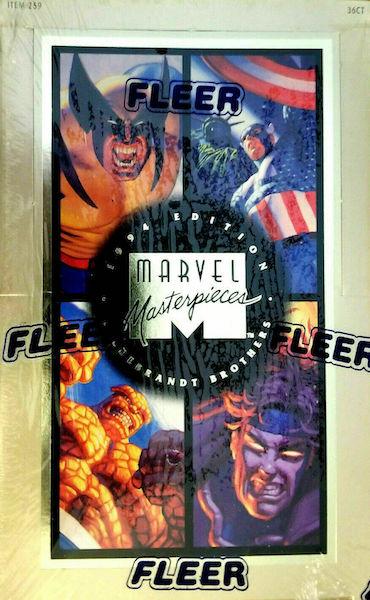 1994 Fleer Marvel Masterpieces Trading Cards 7