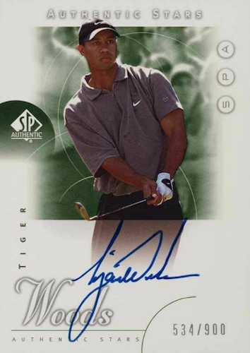 2001 SP Authentic Golf Cards 4