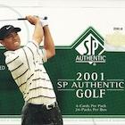 2001 SP Authentic Golf Cards
