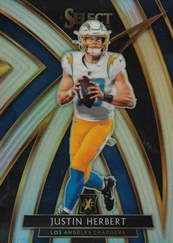Top Justin Herbert Rookie Cards to Collect 12