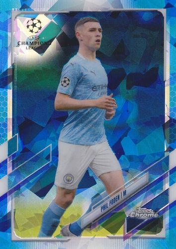 2020-21 Topps Chrome Sapphire Edition UEFA Champions League Soccer Cards 3