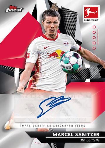 2020-21 Topps Finest Bundesliga Soccer Cards 5
