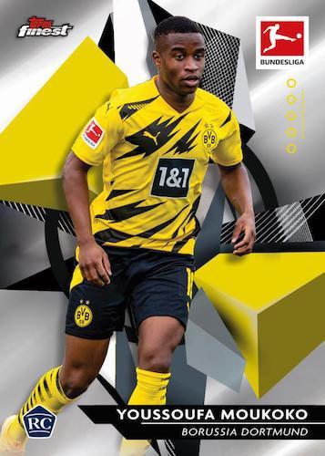 2020-21 Topps Finest Bundesliga Soccer Cards 3
