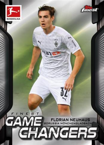 2020-21 Topps Finest Bundesliga Soccer Cards 4