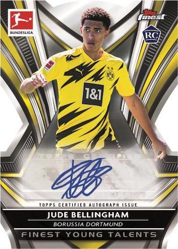 2020-21 Topps Finest Bundesliga Soccer Cards 6