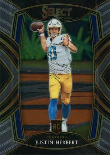 Top Justin Herbert Rookie Cards to Collect 10