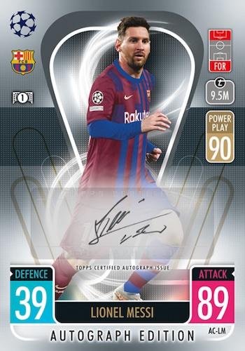 2021-22 Topps Match Attax UEFA Champions League Europa League Cards Checklist 5