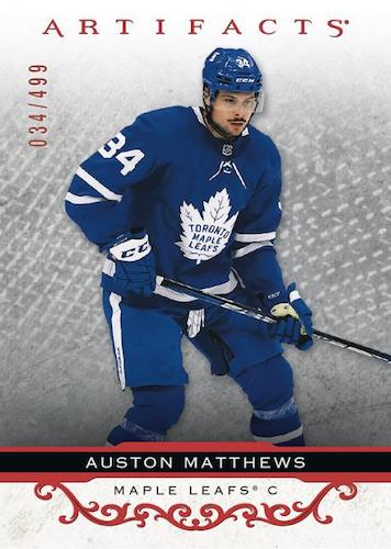 2021-22 Upper Deck Artifacts Hockey Cards - Early Images 1
