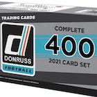 2021 Donruss Football Factory Complete Set Cards