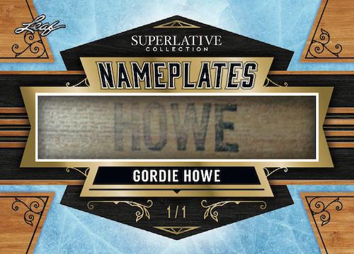 2021 Leaf Superlative Collection Hockey Cards 9