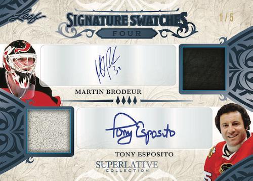 2021 Leaf Superlative Collection Hockey Cards 7