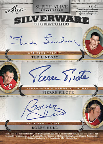 2021 Leaf Superlative Collection Hockey Cards 5