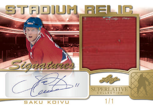 2021 Leaf Superlative Collection Hockey Cards 6